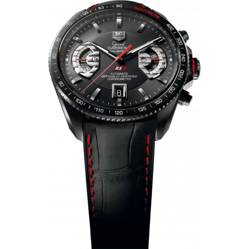 Tag Heuer Grand Carrera Watch Calibre 17 RS2 CAV518.BFC6237