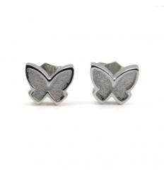 Silver Butterfly Earrings PAP001AR500