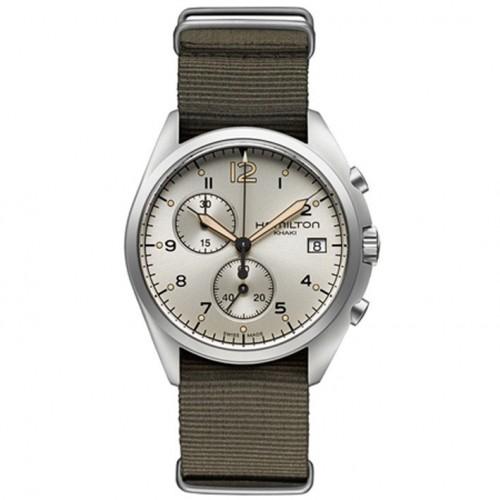 Hamilton Khaki Pilot Watch Chrono Quartz Pioneer H76552955