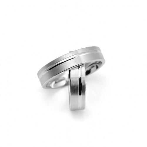 White Gold Wedding Rings 0211B 651 2X