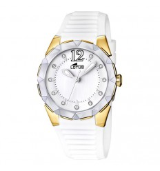 Cool Lotus Watch Gold Plated 15871/1
