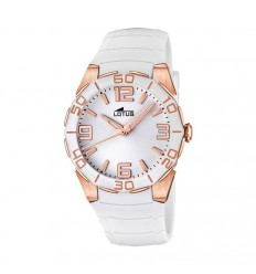 Cool Lotus Watch Pink Plated 15864/1