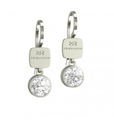 Candy Rebecca Black Rhodium Earrings Swarovski stone BCNOBB15