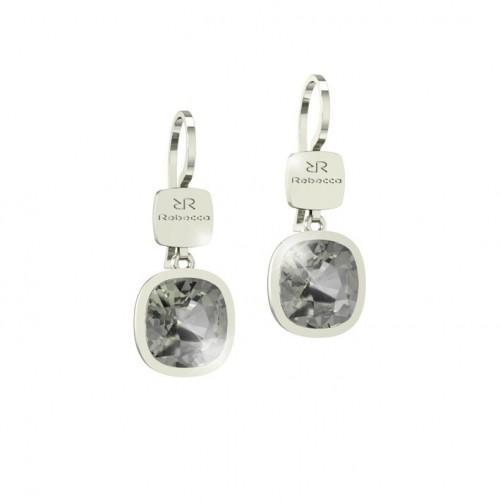 Candy Rebecca Rhodium Earrings Swarovski stone bronze BCNOBN18