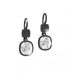 Rebecca Earrings Candy bronze Swarovski stone black rhodium BCNONB18