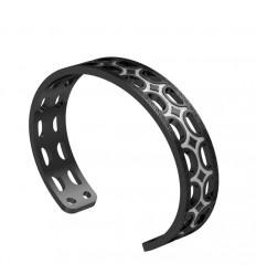 Seventies Bracelet bronze Rebecca black rhodium B70BNB01
