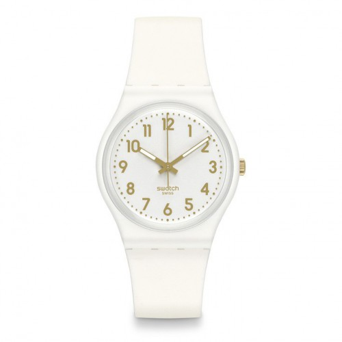 Swatch Original Gent White Bishop Watch GB164