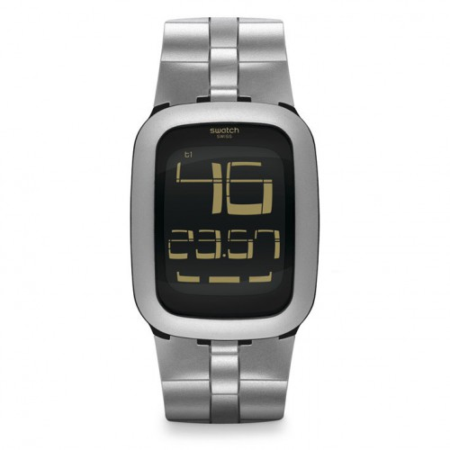 Swatch Touch Watch Silver Bump SURM100