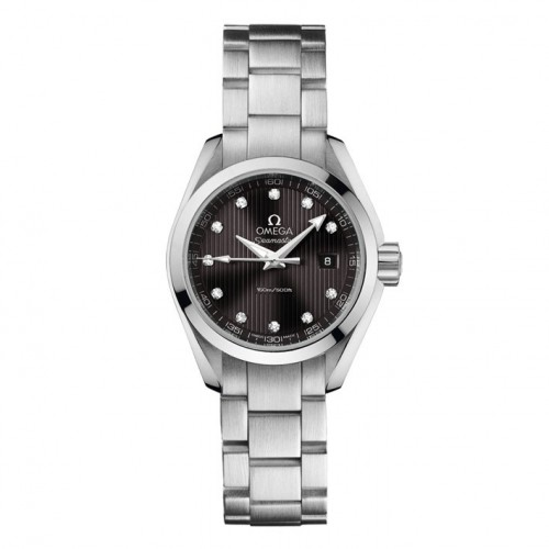 Omega Seamaster Aqua Terra watch lady diamonds 23110306056001