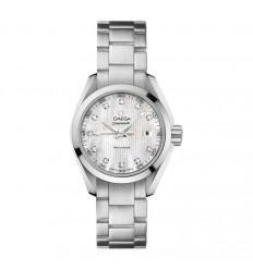 Omega Seamaster Aqua Terra watch lady diamonds 23110306055001