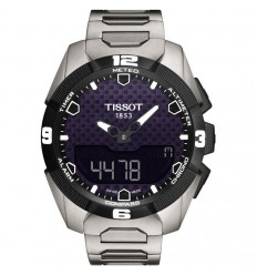 Tissot T-Touch Expert Solar titanium bracelet T0914204405100