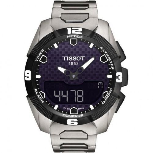 Tissot watch. T-Touch Expert Solar. T0914204405100