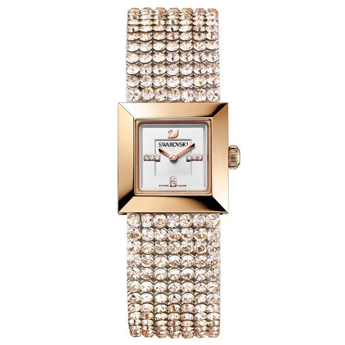 DtlChapado SwarovskiElis Mini Reloj Silk En RosaPvd1124135 Oro qUGLzpjMVS