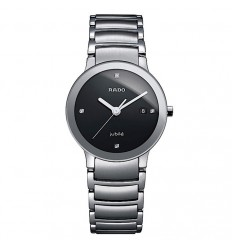 Rado Centrix Ladies Watch in Stainless Steel and diamonds. R30928713