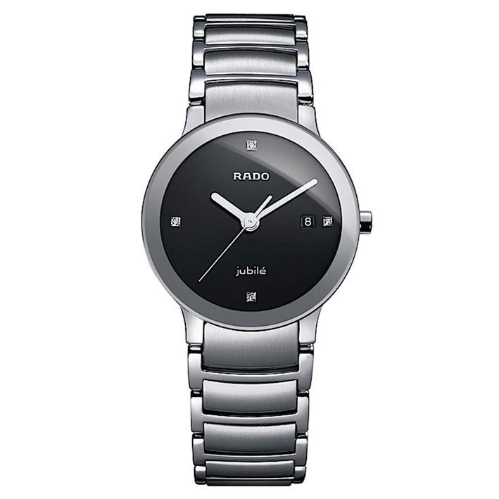 Reloj Mujer Rado Centrix En Acero Y Diamantes R30928713