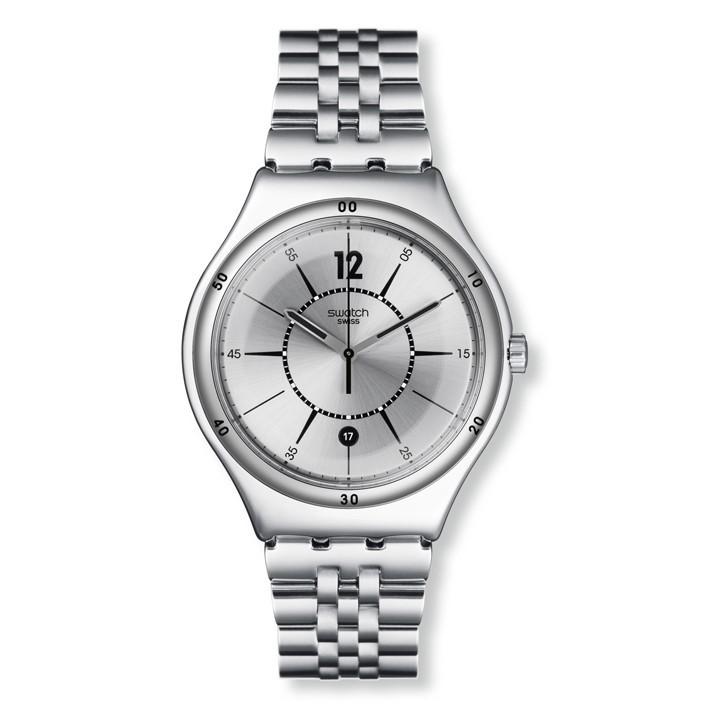 De Swatch Moonstep Brazalete Reloj Con AceroYws406g Irony mynPvwN08O