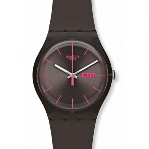 Swatch New Gent BROWN REBEL SUOC700