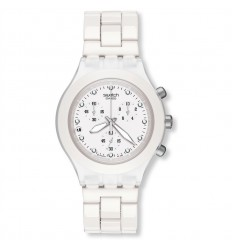 Swatch Diaphane Chrono watch FULL-BLOODED WHITE SVCK4045AG