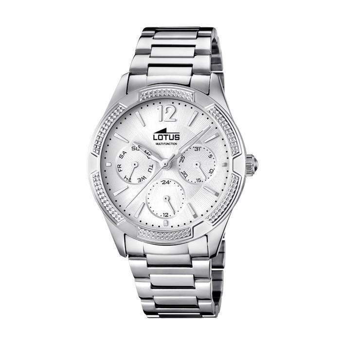 a35f611a0abd Reloj Lotus Trendy mujer multifunción calendario acero 15922 1