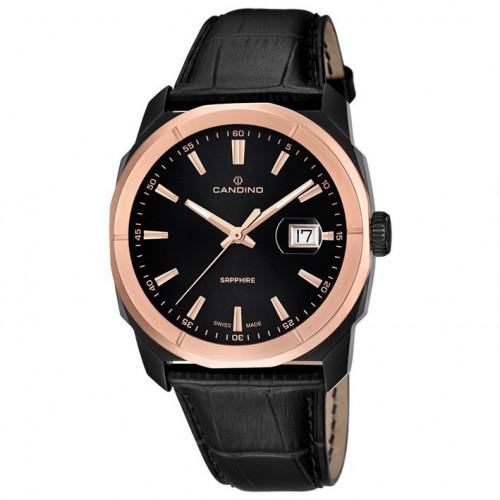 Candino Casual Quartz watch 42mm color and black copper C4588 / 1