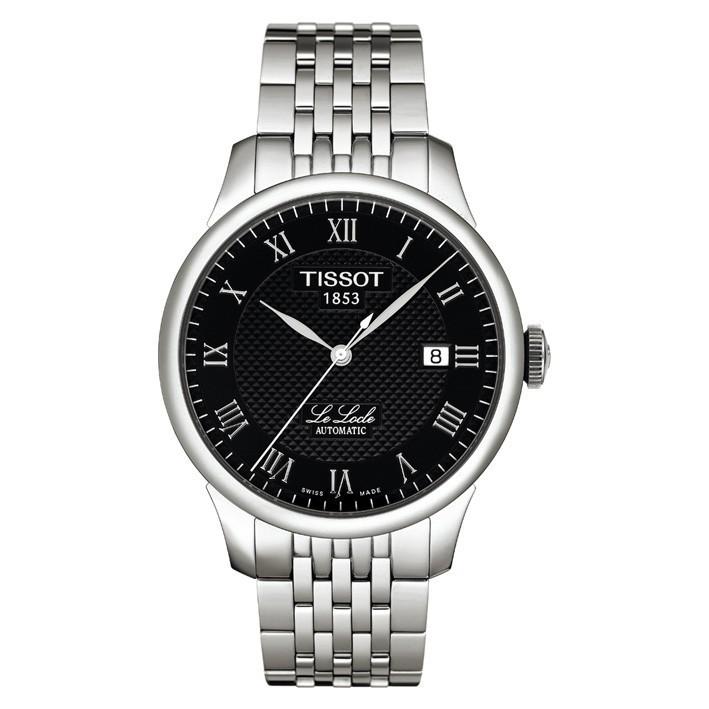 mejor autentico 80f1a be8c6 Reloj Tissot Le Locle negro automático acero inoxidable. T41148353