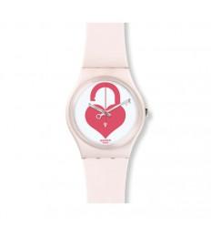 Swatch valentine Unlock My Heart in pink. GZ292