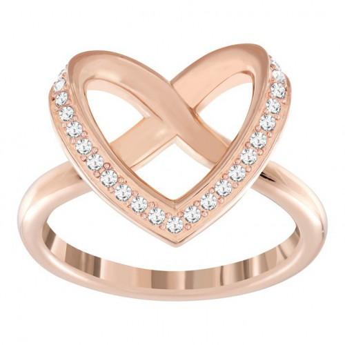 Swarovski Ring Swarovski heart Cupidon color copper. 5139687 5113590