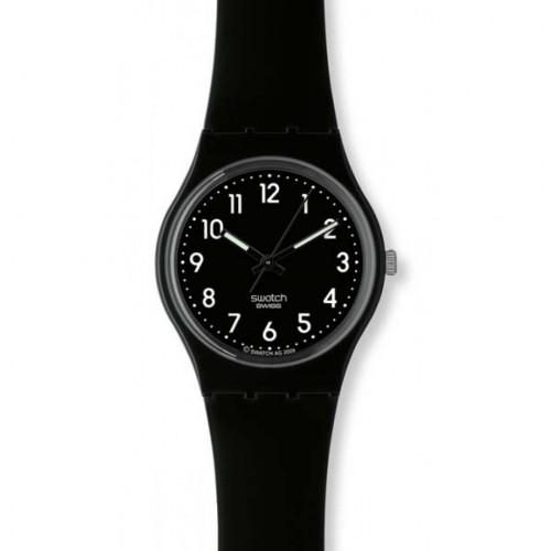 Swatch Original Gent watch black suit. GB247
