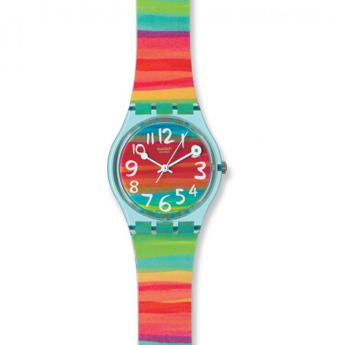 Plastic Swatch Original Gent Watch, Color The Sky GS124