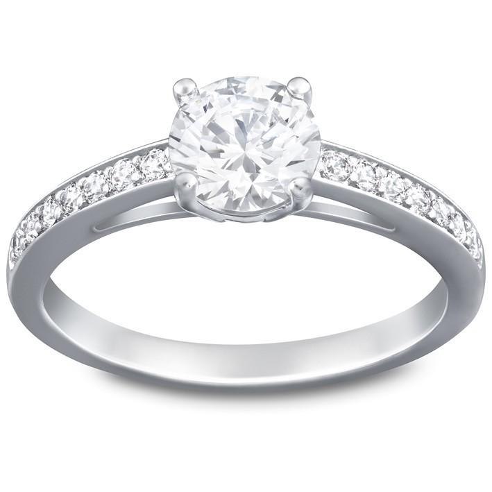 Swarovski attract round 5032920 5032921 anillo piedras for Piedras swarovski para unas