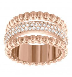 Click Swarovski Ring 5140093 5124279 purchase rose gold-plated ring
