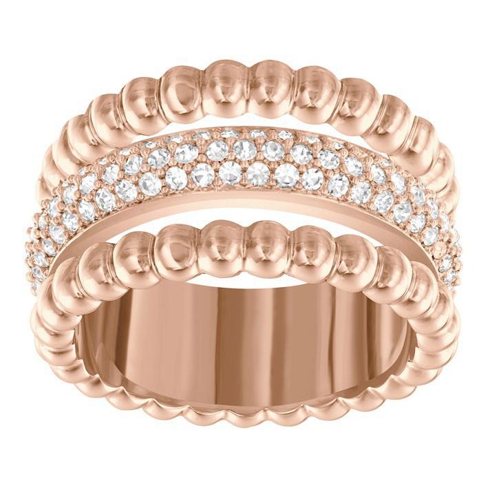 Anillo Swarovski Click comprar 5140093 5124279 chapado oro rosa f5209dfaa0