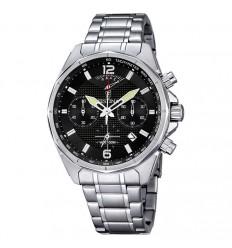Festina chronograph watch 44mm men purchase F6835/4 black Color