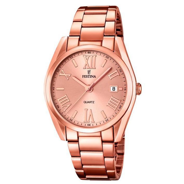 d1966d277f24 Reloj Festina mujer 37mm color cobre F16793 2 con calendario