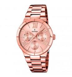 Reloj Festina mujer acero inoxidable chapado oro rosa F16718 2 2adae0b122ab