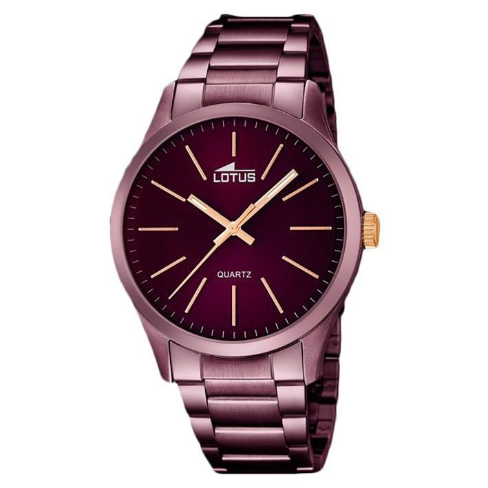 934955d844f7 Reloj Lotus hombre color chocolate 18164 2 índices color oro rosa