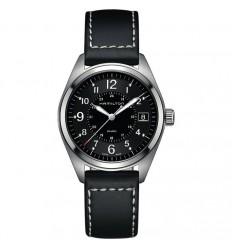 Hamilton Khaki Field man H68551733 black dial diameter 40 mm