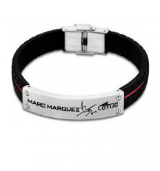 Lotus Style Marc Marquez red details LS1681-2/2 black rubber bracelet