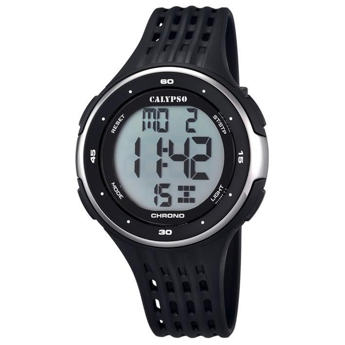 zapatos deportivos c35d5 61088 Reloj digital Calypso para hombre K5664/1 color negro correa silicona
