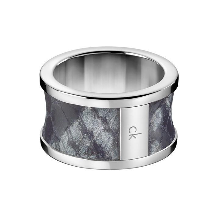 Spellbound kj0dar090107 kj0dar090108 anillo ck acero color gris - Color gris acero ...