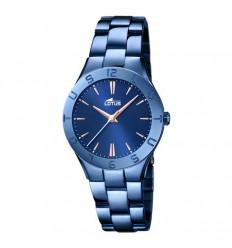 Lotus Trendy blue 18249/2 blue watch stainless steel