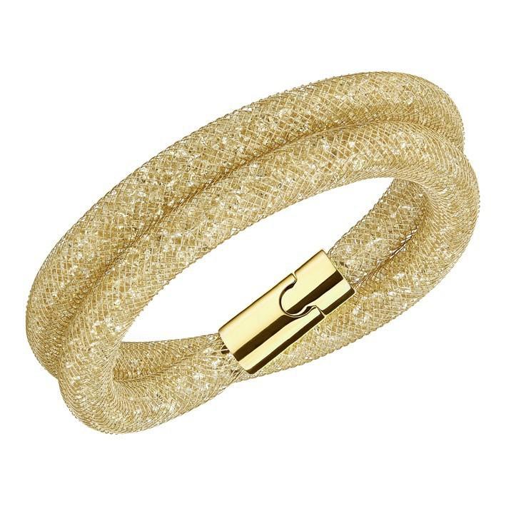 91e84a06290 Pulsera Swarovski Stardust Deluxe cristales dorados 5159277 5184171