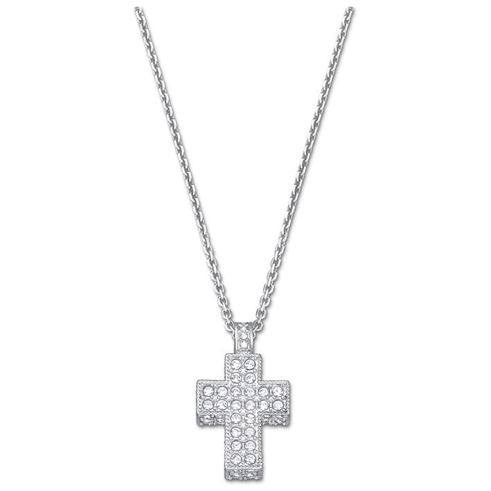2778051d563 Cross Mini 5020060 colgante cruz Swarovski con piedras en pavé y cadena