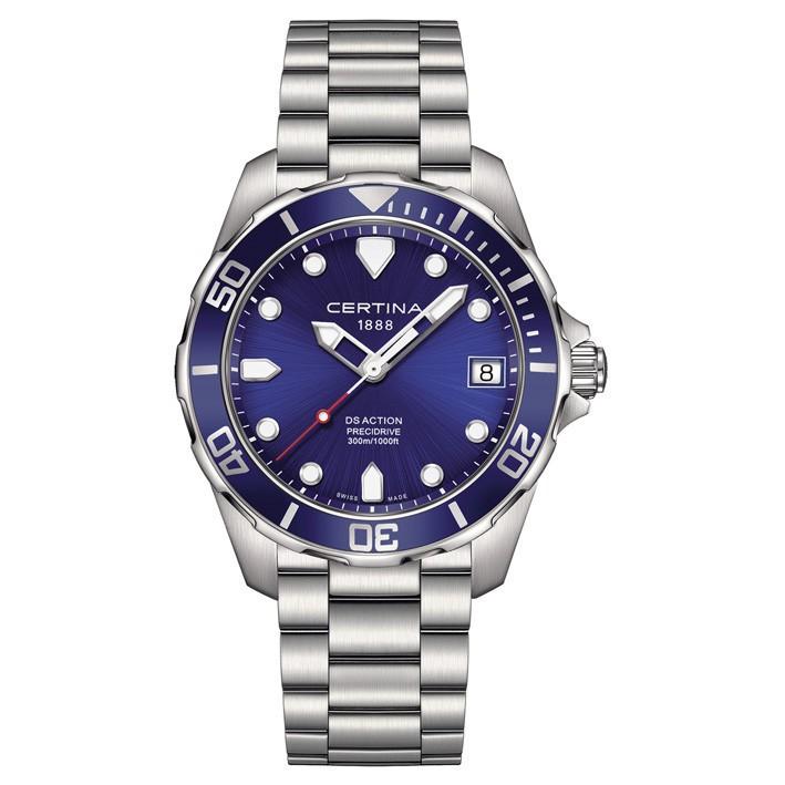 71d48b61356c Reloj Hombre Certina DS Action esfera azul C032.410.11.041.00