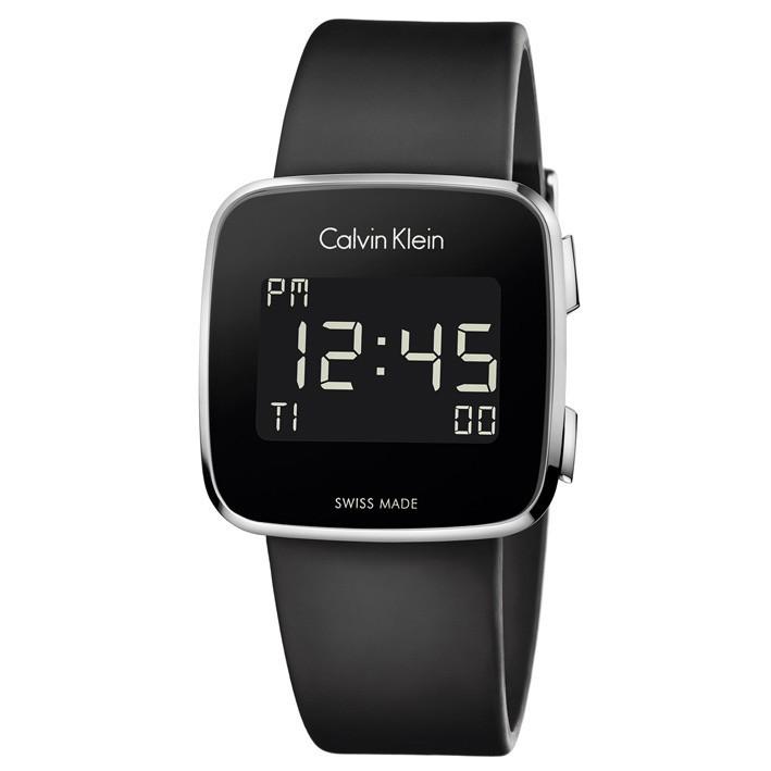 f386a4af75a2 Reloj Calvin Klein Future Digital K5C21TD1 correa de caucho con hebilla
