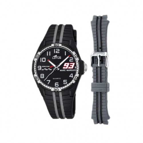 Lotus Marc Marquez watch collection black and gray communion 18261/8