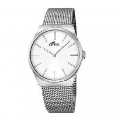 Lotus watch stainless steel Milanese bracelet 18285/1 silver dial