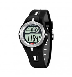 Calypso digital watch man K5511/1 black rubber 42.5 mm diameter