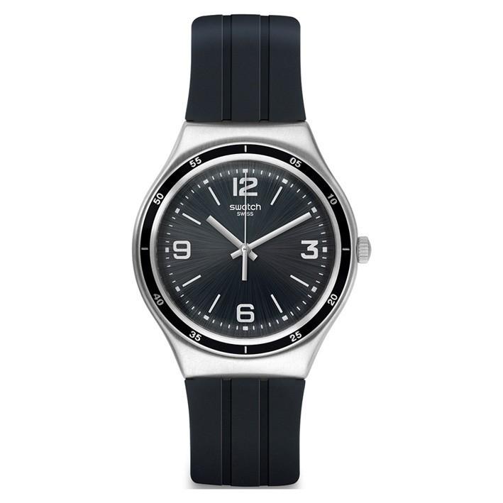 Reloj Swatch Irony Correa Silicona Acero Inoxidable Shiny