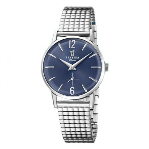 Extra Festina blue sphere F20256/3 with indexes extensible adjustable bracelet